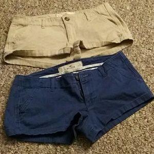 Hollister bundle cargo shorts